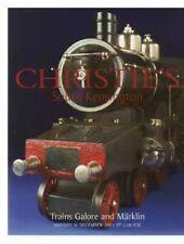 CHRISTIE'S South Kensington December 2002 Trains Galore And Märklin