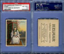 1912 T52 AMERICAN TOBACCO COSTUMES & SCENERY CHINA PSA 4.5 (2632)