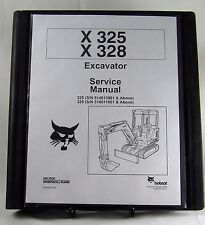 Bobcat X325 X328 Excavator Service Manual 6900462