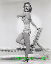 GALE ROBBINS 8X10 Lab Photo 1953 Sexy Slinky Costume, Shimmering Babe Portrait