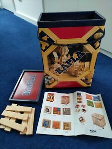 KAPLA 200 Box (UK), natural wood, toy, build, construct