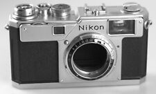 NIKON S4 RANGEFINDER MODEL #6504045. UNCOMMON NIKON LESS THAN 6000 MADE IN 1959!
