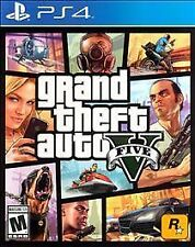 Grand Theft Auto V 5 Sony PlayStation 4 PS4 GTA5 Video Game COMPLETE!!!