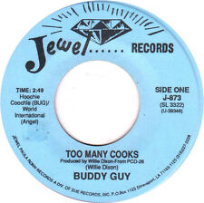 "Buddy Guy Jesse Fortune - Too Many Cooks 7"" lp - new copy - Chicago Blues"