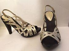 Jessica Simpson Size 7 Euro 37 High Heel Sandal Open Toe Sling back Women Shoes
