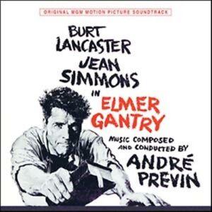 Elmer Gantry Andre Previn soundtrack Burt Lancaster CD Kritzerland CD OOP