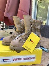 BRAND NEW - Belleville Waterproof Combat Boots TAN- Size  4, Ladies Size 6