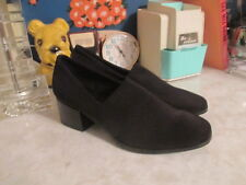 Vagabond Mya stretch pump loafers women's size 38 black textile  NWOB