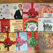 CHRISTMAS ALBUMS Vintage Vinyl Records Holiday Classic Music YOU PICK ONE