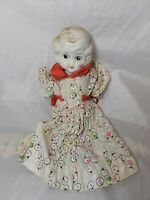 """Vintage Bisque Doll Japan  8"""" Tall  Unmarked"""