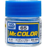 MR HOBBY Color C65 Bright Blue Paint 10ml For Model Kit Brand New Free Ship