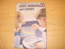 Vintage Ladybird Book: Light, Mirrors And Lenses - 1962 - As Photo