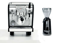 Nuova Simonelli Musica Espresso Machine Coffee Maker & Grinta Black Set 110V