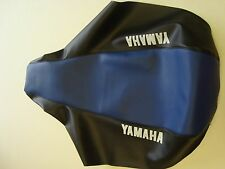 Motorcycle seat cover - Yamaha XT600E 4PT DJ02 in black & blue