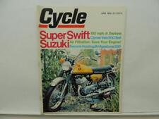 June 1969 Cycle Magazine Suzuki Clymer Bridgestone 200 Harley-Davidson L11335