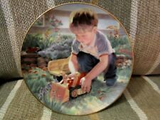"""The Hamilton Collection """"Forgive Our Trespass"""" Plate #4 Lords Prayer Collection"""