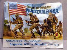 MONTAPLEX Sobre Grupos de Combate NORTEAMERICA 2ª GM soldaditos años 70 airfix