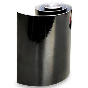 Glossy Black Window Visor Sun Strip Vinyl Decal Sticker For Car Front Windshield