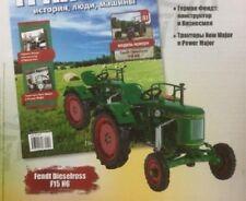 Hachette Tractor Fendt Dieselross F15 H6 #81 Russian Edit. 1/43 scale + Magazine