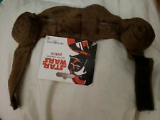 "PETCO Star Wars Princess Leia Cat Headpiece O/S""Cinnabons""Brown Iconic Buns NEW"