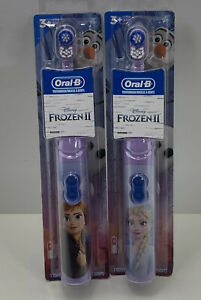 Oral-B  Disney Frozen II Kids Soft Oral Care Toothbrush New Lot Of 2