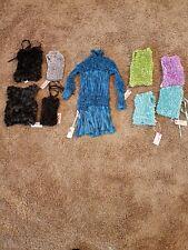 My Pretty Angel 818 Fashion lot of 8. S,M,L silk blend