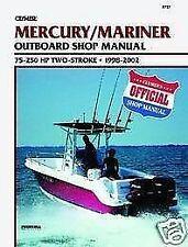 Mercury Marine 75-250hp 1998-2009 Outboard Motor Service Repair Shop Manual