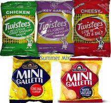 5 Pk Malta Maltese Goody Summer Snack Mix - Chicken BBQ Galletti Twistees Cheese