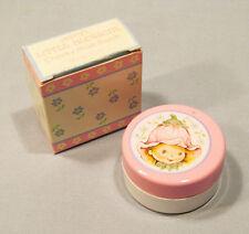 Vintage Avon Little Blossom Cheeky Rose Blush Flower Fairy Compact Original Box