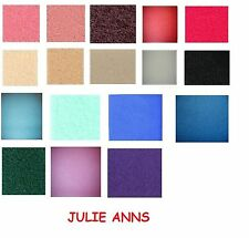 DOLLS HOUSE STAIR CARPET, LOTS OF COLOURS  MINIATURE CARPET, 12 TH SCALE NEW