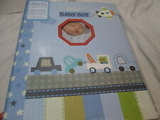 Stepping Stones Our Baby Boy Baby's First Memory Record Book ~ Car, Trucks New