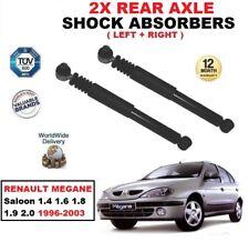 trasero Izquierdo Derecho Amortiguadores Para Renault Megane 1.4 1.6 1.8 1.9 2.0