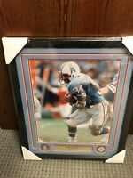 Earl Campbell Autographed Framed 16x20 Photo! Tri-Star Cert. Oilers HoF!