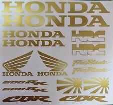 1x Honda CBR600RR VINYL DECAL KIT SHEET MOTORBIKE WINDOW LAPTOP