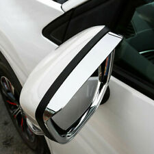 2*Chrome Door Mirror Eyebrow Frame Cover Trim For Mitsubishi Eclipse Cross 18-19