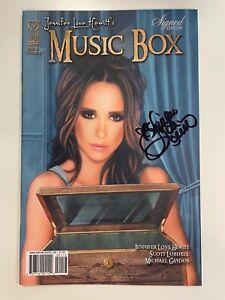 IDW JENNIFER LOVE HEWITT'S MUSIC BOX #1 RI-B CVR :SIGNED BY JENNIFER LOVE HEWITT