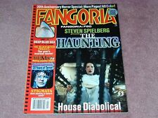 FANGORIA # 184, The Haunting, Deep Blue Sea, Stigmata, Free shipping in USA