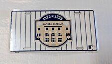 New York Yankees Yankee Stadium 1923 2008 Car Truck Metal License Plate Tag