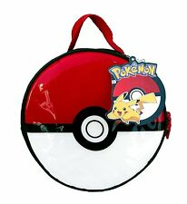 "Pokemon Ball Graphic 8.5"" Lunch Bag Lunch Box-Pokemon Ball Lunchbox-Brand New!"