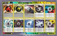 🌈Lot de 10 cartes Energies Spéciales Françaises Neuves - Pokemon