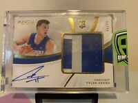 2019-20 Panini Immaculate TYLER HERRO RC Rookie Patch Auto RPA Heat 3CLR PSA 10?