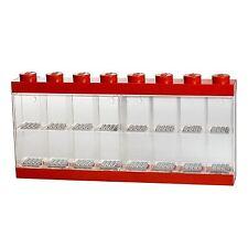 GRANDE Lego Storage - 16 figura di visualizzazione Case-rosso