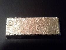 TIN BAR -INGOT APPROX 1 POUND 99.9% PURE-NOT STAMPED-CAST- MADE IN USA