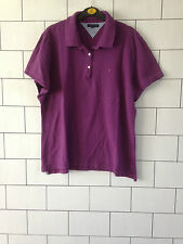 URBAN Vintage con Tommy Hilfiger Manica Corta Polo T Shirt Top Uk medio #24