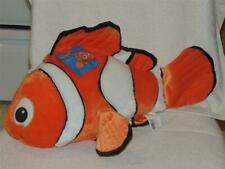 Disney Store Plush Finding Nemo Clown Fish Orange Large Stuffed Toy with Tag