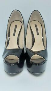 Tony Bianco Women's Platform Shoes, Black, Size 6