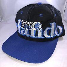 Vintage Orlando Magic Logo7 Snapback Baseball Cap Hat NBA