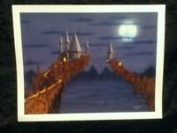 """11"""" PRINT Skil Saw Art by Eric Spike Horn Castle Fantasy Medieval Midwest Sci Fi"""
