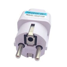 Universal US EU AU UK to France Germany Spain Europe Power Plug Travel Adaptor