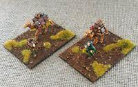 28mm Painted 2 Caravan Camp Objectives for Crusades Dark Ages Medieval Wargames